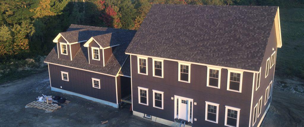 New 3000 sqft colonial. 3/4 bed. 2.5 bath, bonus room above 2 car garage with twin dormers. Breezeway, full basement