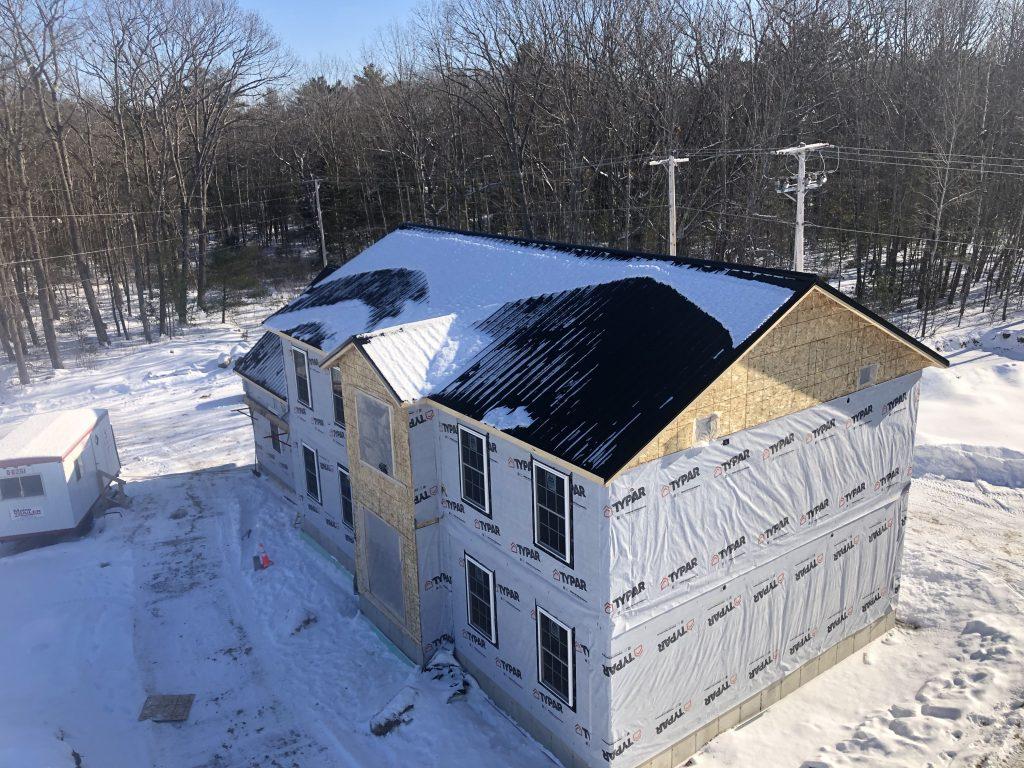 New 2500 sqft colonial. 3/4 bed. 2.5 Bath, 2 car garage, covered porch, full basement